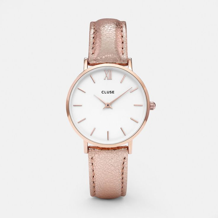 Minuit Rose Gold White/Rose Gold Metallic