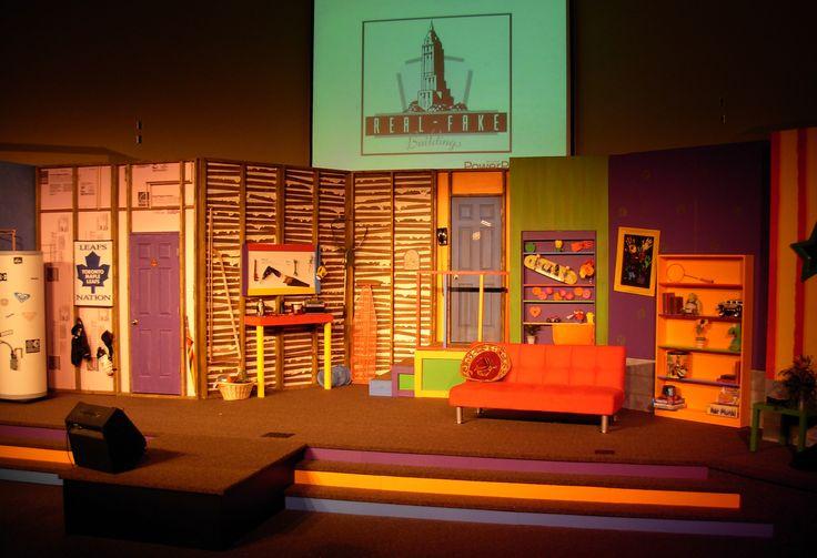Portable Children S Stage Set Design Ideas Kids