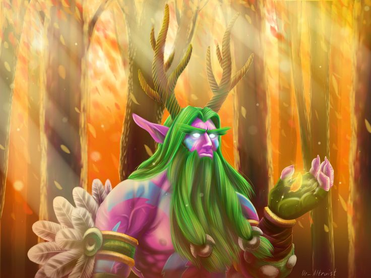 Malfurion (for contest) by DrAltruist on DeviantArt