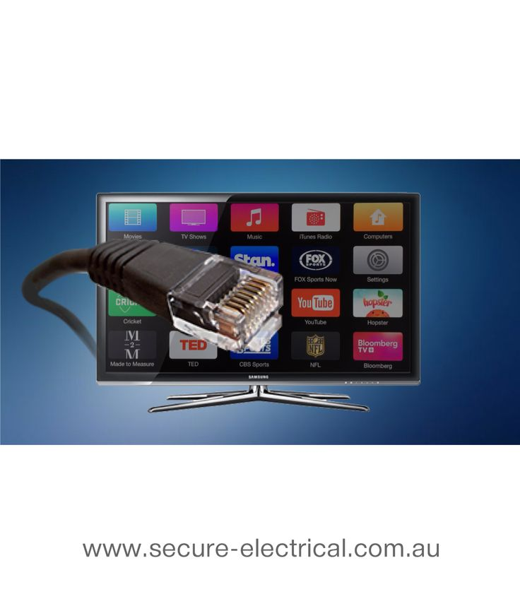 Direct connect your Smart TV to the Internet AMCA REGISTERED TELEPHONE TECHNICIAN & LICENSED ELECTRICIAN Servicing Sydney's INNER WEST SYDNEY SYDNEY CBD INNER METRO AREA SYDNEY