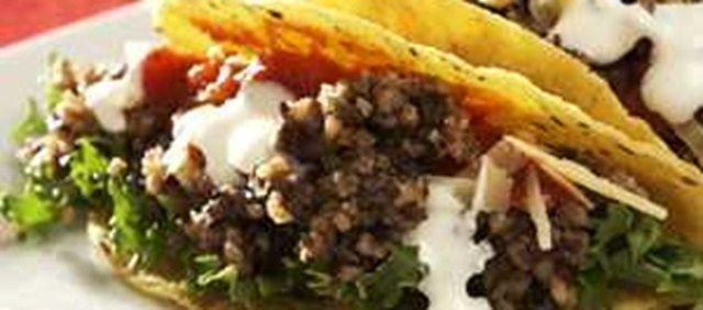 Scottish Haggis Tacos!