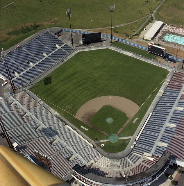 Jarry Park, Montreal - The old home of the Montreal Expos. I can't believe they played major league baseball games here as late as 1976!