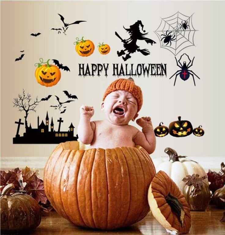 Cartoon Happy Halloween Pumpkin Kids room