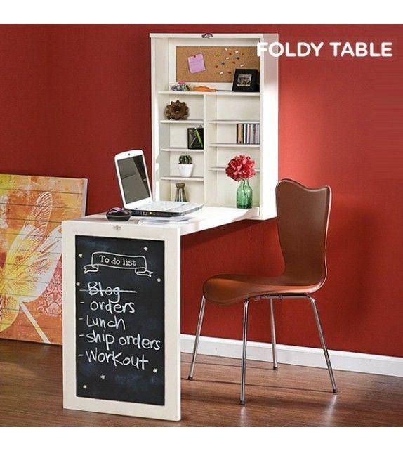 17 meilleures id es propos de bureau mural rabattable sur pinterest bureau pliant salles d. Black Bedroom Furniture Sets. Home Design Ideas