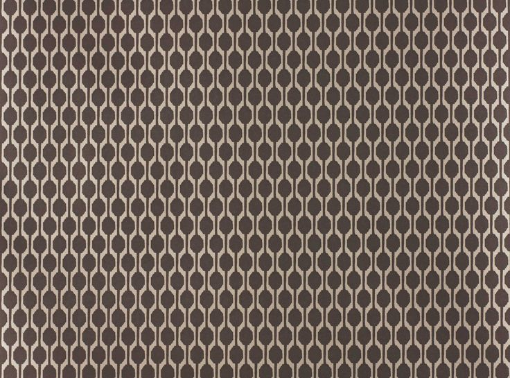 A small scale all-over design that combines a lustrous metallic with colourful brights or elegant neutral shades perfect for every wall. Printed on a wide width, non-woven ground for easy installation. Contemporary Geometric Design Designer Fabrics & Wallcoverings, Upholstery Fabrics