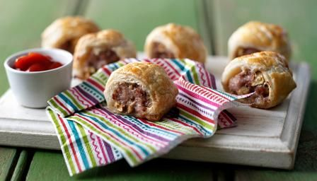 Easy homemade sausage rolls - watch them disappear in a flash