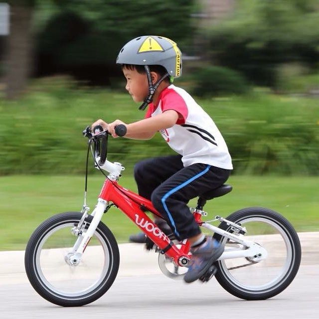 Rower WOOM 2 http://www.woombikes.pl/collections/lekkie-rowery-dla-dzieci-woom/products/lekki-rower-woom-2-na-kolach-14-wiek-3-wzrost-95-100