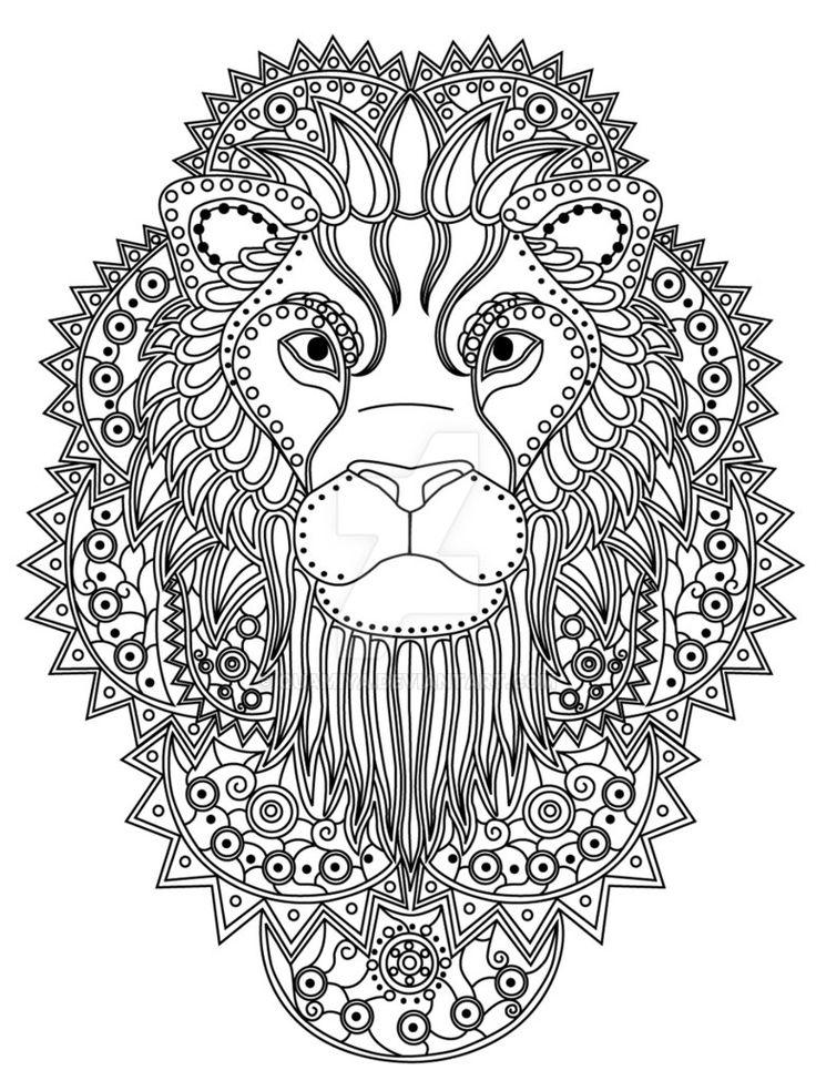 Best 25 Lion coloring pages ideas