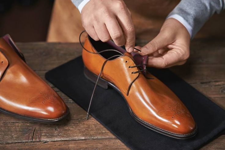 Every BOSS Tailored shoe is beautifully finished by an artisan