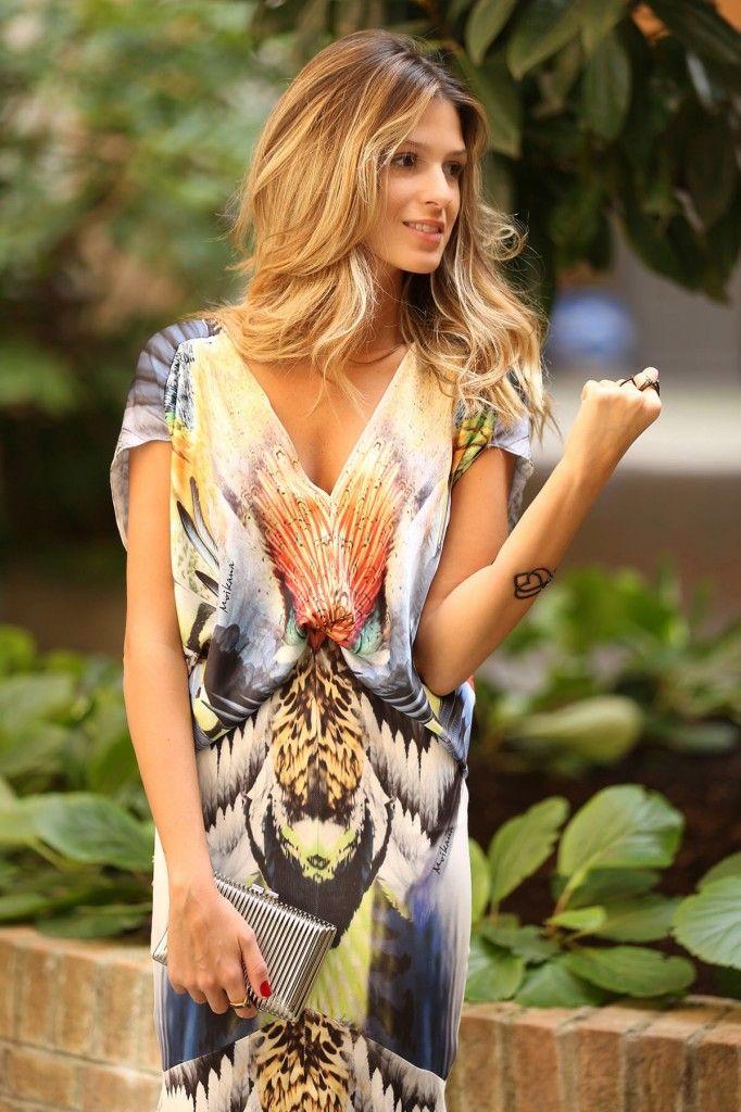 Parceria - blogueira Ana Fasano vestindo Moikana NY Fashion week