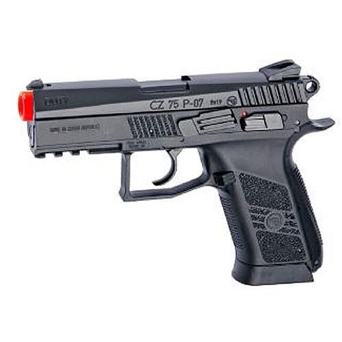 Pistol 160921: Asg Licensed Cz 75 P-07 Duty Airsoft Pistol Co2 Blowback Metal Slide Weaver Rail -> BUY IT NOW ONLY: $74.95 on eBay!
