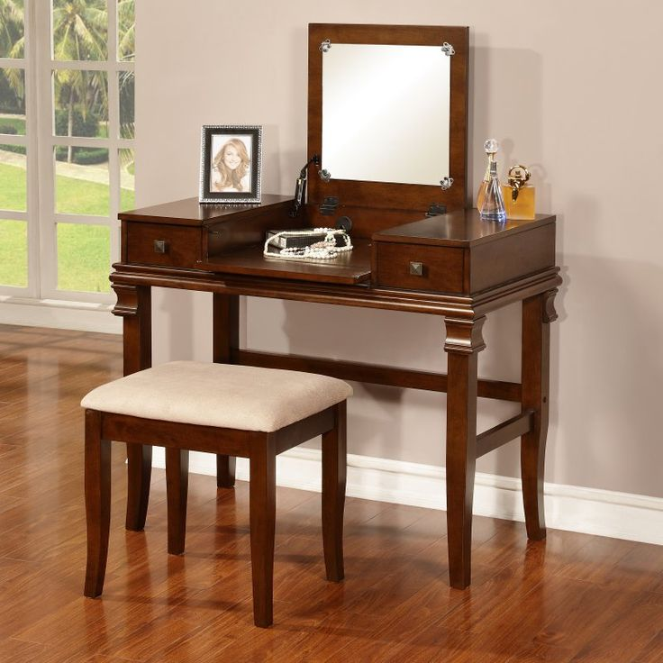 Angela Bedroom Vanity Set - 98373W