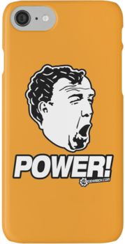 Top Gear - Jeremy Clarkson POWER!! iPhone 7 Cases