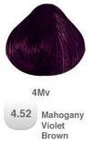HAIR COLOR 4.52 MAHOGANY VIOLET BROWN