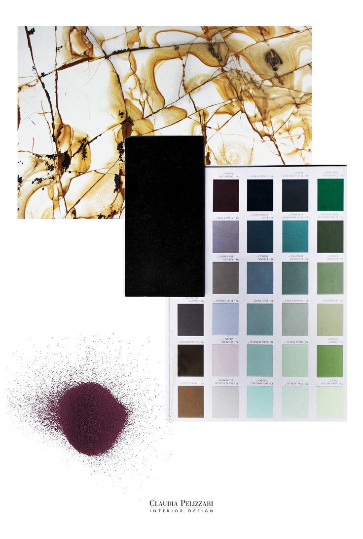 M O O D #mood #inspiration #materials #project #design #interiordesign #interior #brass #colors #newproject #architecture #studiopelizzari