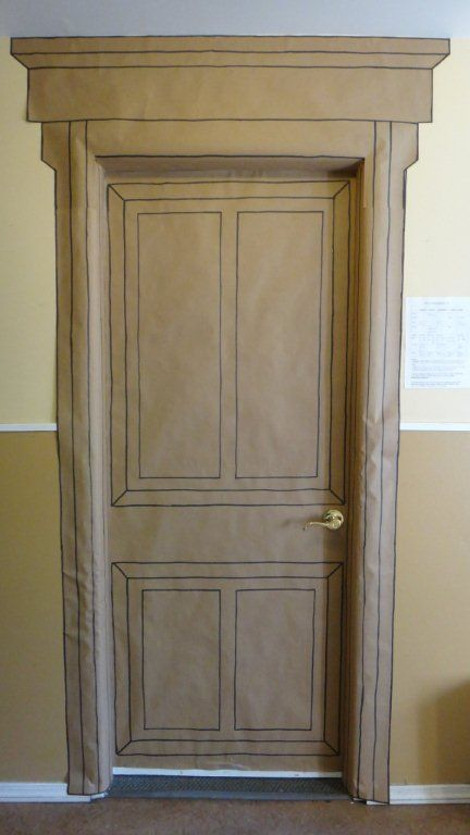 """Wardrobe door for entering Narnia. Great for our """"Lion, Witch, and the Wardrobe"""" unit"""