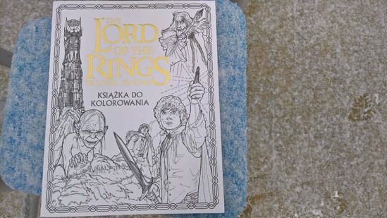 The Lord of the Rings. Trylogia filmowa. Książka do kolorowania