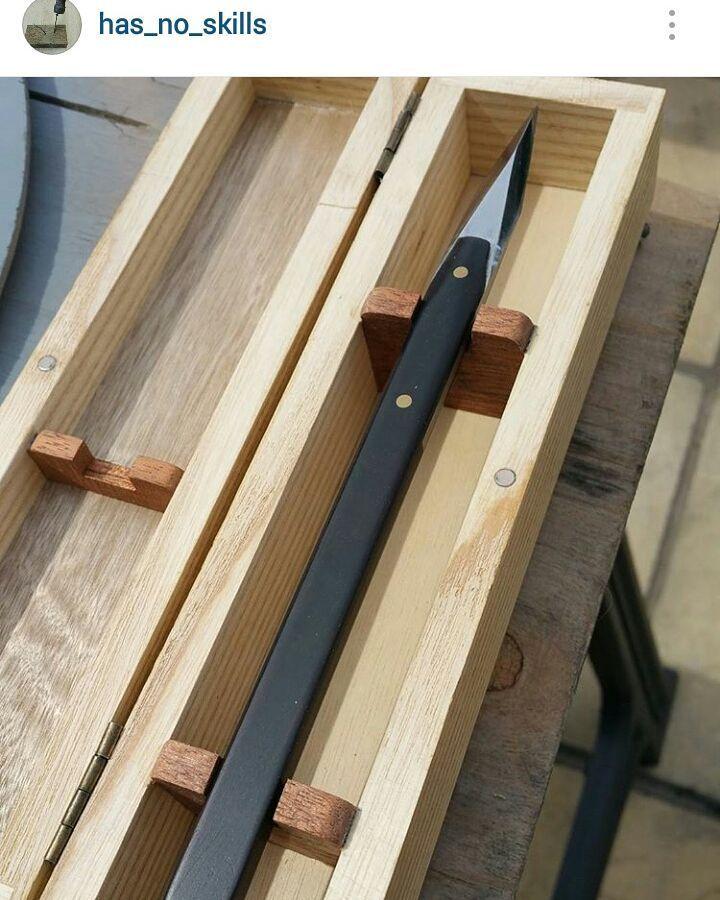 African Blackwood marking knife