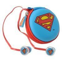 DC COMICS-ELECTRONICS - AUDIO EQUIPMENT-Accessories-Character Earphones-£2.50-Character Earphones  Don these  DC Comics Character Earphones sporting your favourite superhero. These earphones have a high quality sound along with an in-line mic, spare ear buds incase any get lost and a little carry case with matching hero motif.    > Earphones  > Superhero motif  > High quality sound  > Compatible with all iPods, iPhones, iPad,