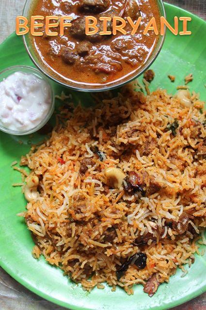 YUMMY TUMMY: Beef Biryani Recipe - Beef Dum Biryani Recipe http://www.recipenation.net