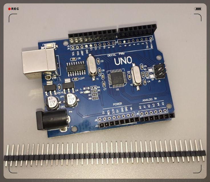 2016 kualitas tinggi Satu set UNO R3 (CH340G) MEGA328P untuk Arduino UNO R3 (ADA KABEL USB)