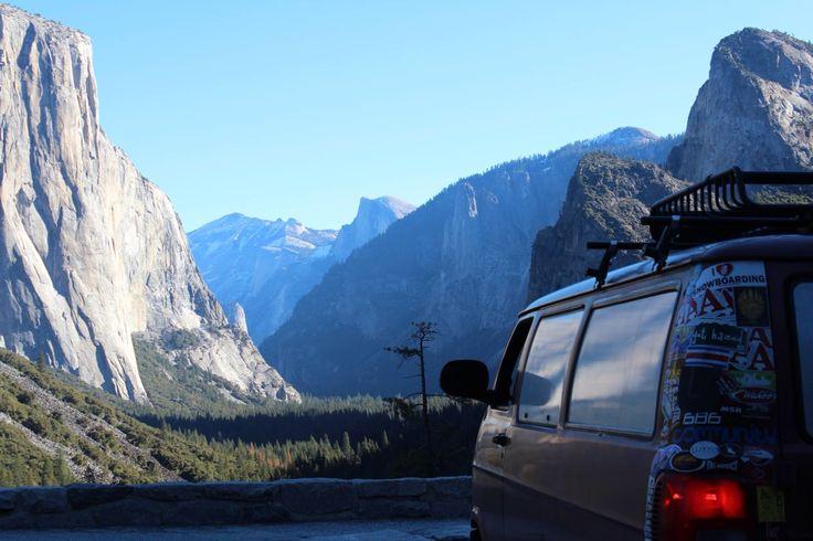 Hitting up half dome, Yosemite