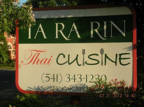 Thai - Ta Ra Rin in Eugene, Oregon.  The best Thai food around!