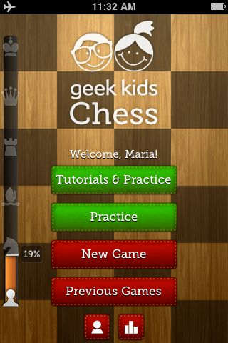 Apps for Geek Kids: learn chess, the basics of computer programming and how machines work, designed as games for kids 4-5+