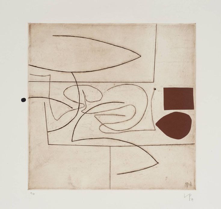 Victor Pasmore 'Linear Motif in Three Movements', 1974 © Tate