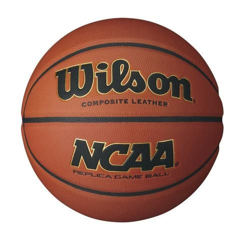 WILSON NCAA COMPOSITE BASKETBALL Tough and true. Rivals the Evolution for quality but at a nice price. Check our our baseketballs here:  https://shopspokesandsports.com/collections/basketball/products/wilson-ncaa-composite-basketball