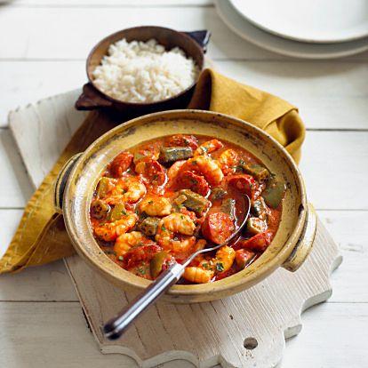 アメリカ南部の料理ガンボスープをご紹介、作りたいならこのレシピ ... エビをたっぷり使った、スパイシーシュリンプガンボ