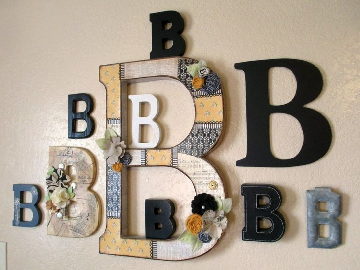 25 best Monogram Wall Decorations ideas on Pinterest Burlap