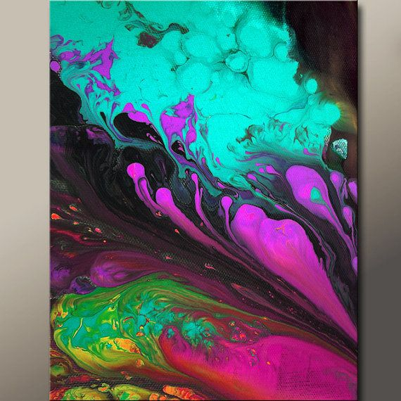 11x14 Abstract Fine Art Print - Contemporary Modern Wall Art  by Destiny Womack  - dWo - Euphoric Playground