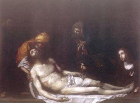 El entierro de Cristo  1612 Autor: José de Ribera
