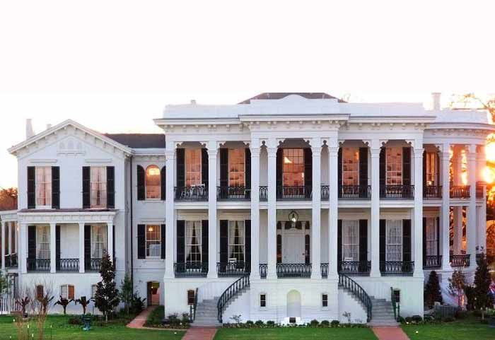 """Nottoway Plantation, Louisiana - this just went to the top of my """"must see southern mansions"""" list..."""