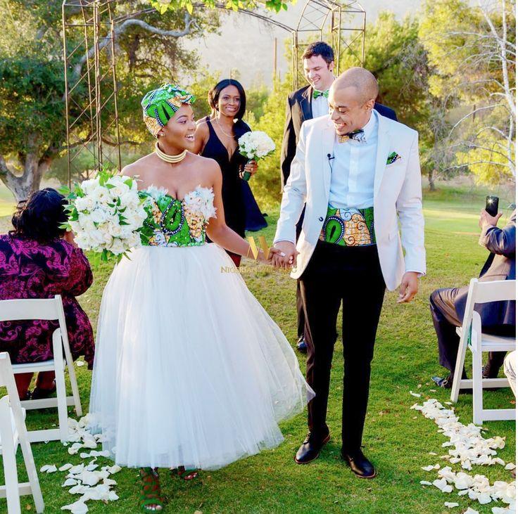 South African Zulu Bride Nosipho Miya Amp Her Groom