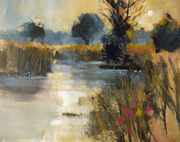 Ann Blockley Artist | Beyond Watercolour - With Chris Forsey R.I.