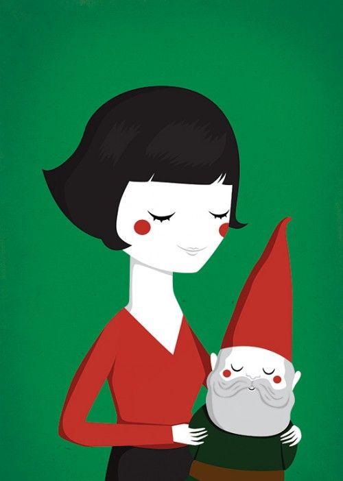 Poster Retrato Amélie Poulain