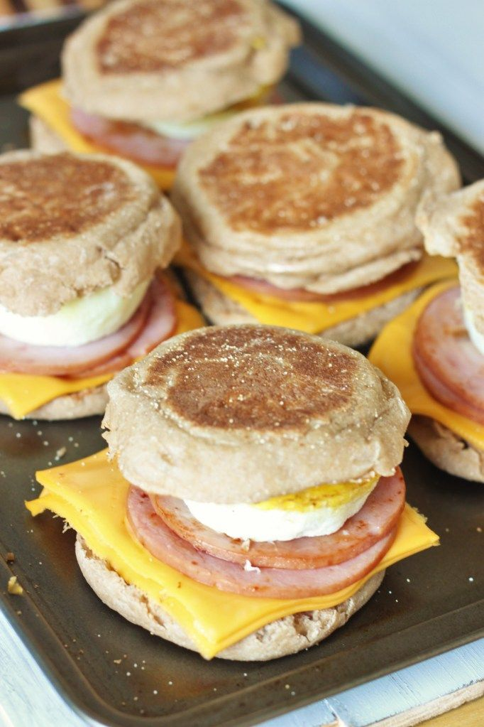 These McDonald's inspired breakfast English muffins taste just like the real thing, except they're made with a fraction of the calories and sodium. I started running again (on a treadmill since it's too cold and windy outside) this week in order to train for a hike we are going on later this month.  It's seriously …