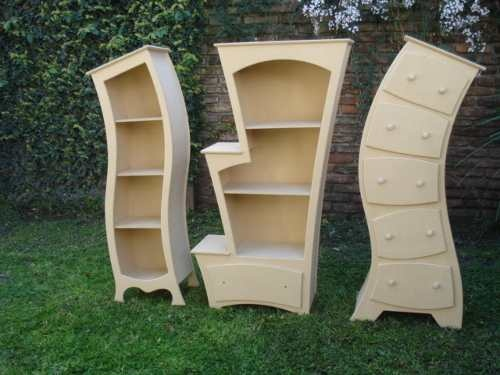 Muebles originales, parecidos a los de la bella y la bestia. Ingles contemporáneo.