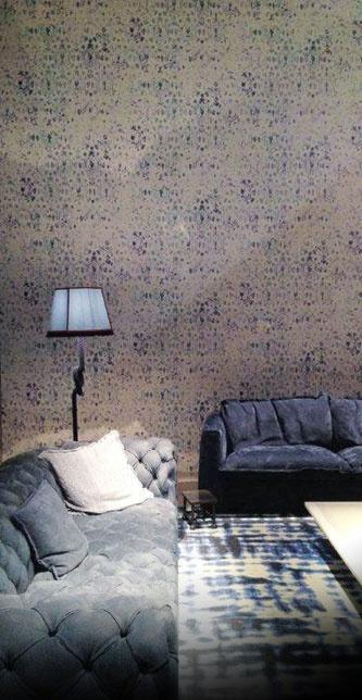 Draperiet på Høvik i Bærum har mange flotte tapeter fra Élitis. - ELITIS papiers-peints, tissus, mobilier / ELITIS wallpapers, fabrics, furniture