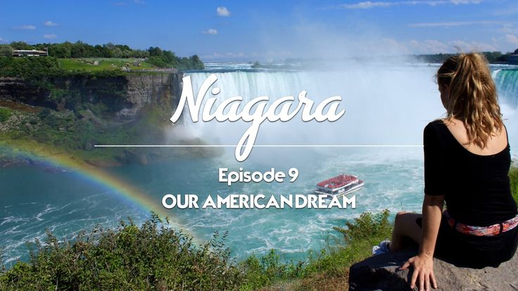 Our American Dream - Episode 9 - Niagara Hornblower Cruise Niagara Falls (USA) Niagara Falls (Canada) Journey behind the Falls White Water Walk --- Ravine Vineyard Estate Winery Château des Charmes Niagara River Between the Lines Winery Peller Estates Winery --- Skylon Tower Niagara Falls Fireworks