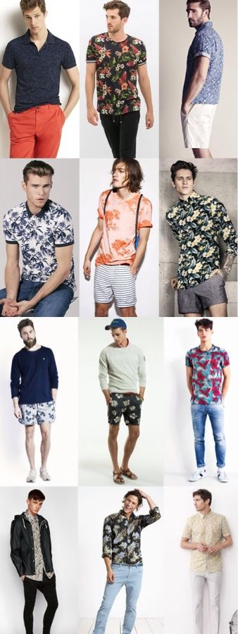 Men's Fashion - A Masculine Approach To Florals
