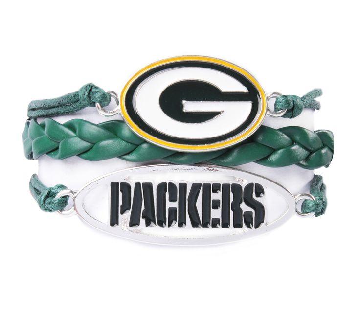 Green Bay Packers Bracelet - Ashley Bridget