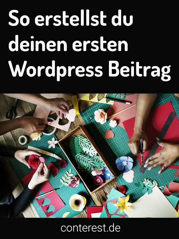 Der Wordpress Editor hat zwei Erscheinungsformen. Den visuellen Modus und den Textmodus. So kannst du damit einen Beitrag erstellen.
