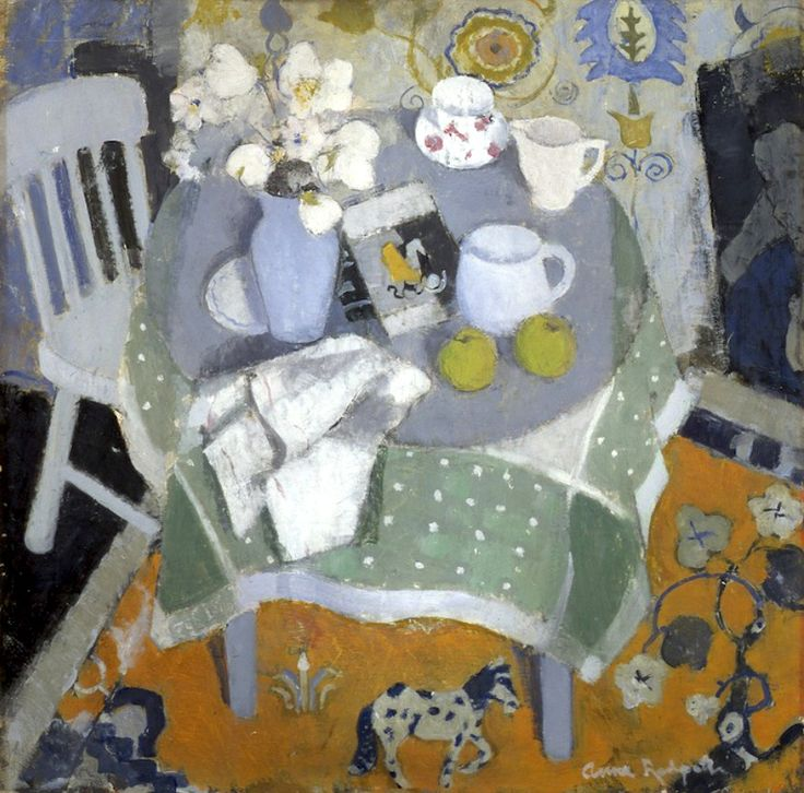 ALONGTIMEALONE: bofransson: Anne Redpath The Chinese Rug c. 1944