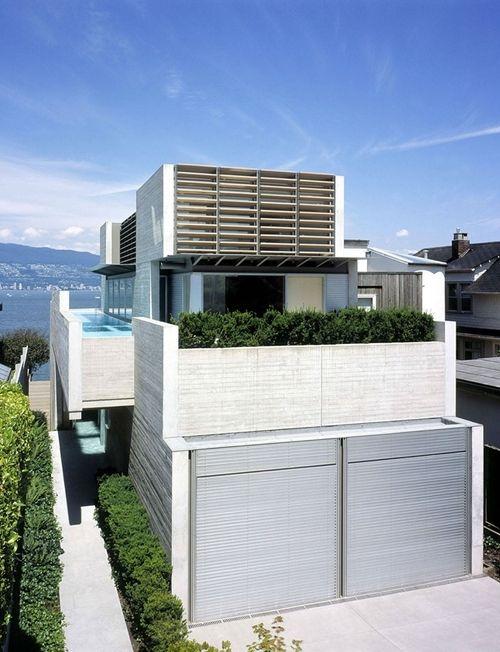 Shaw House, Point Grey, Vancouver, Canada Architect: Patkau Architects