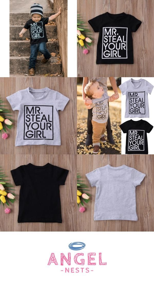 5fbbe8a69257 Toddler Boy Mr Steal Your Girl T-Shirt