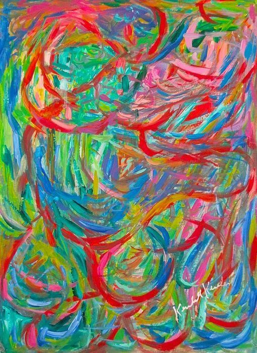 Twisters By Kendall Kessler Art Painting America Art