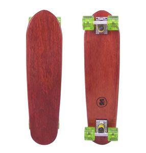 This deck is crafted from a solid piece of sustainably grown Australian Jarrah and features a high gloss clear finish. www.dandfboards.com.au